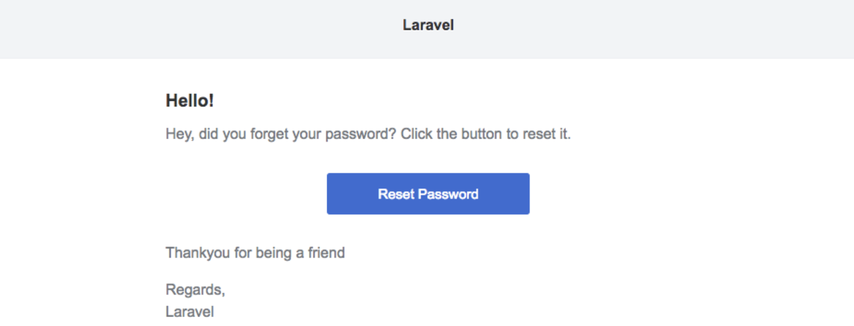 Changing the Laravel 5 password reset email text and Template