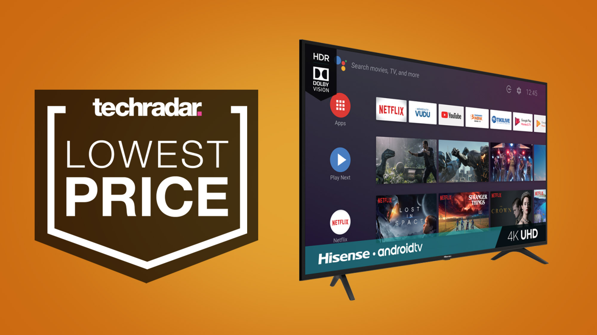 Huge TV deal: this 65-inch 4K TV drops to $429.99 at Best Buy's March Madness sale