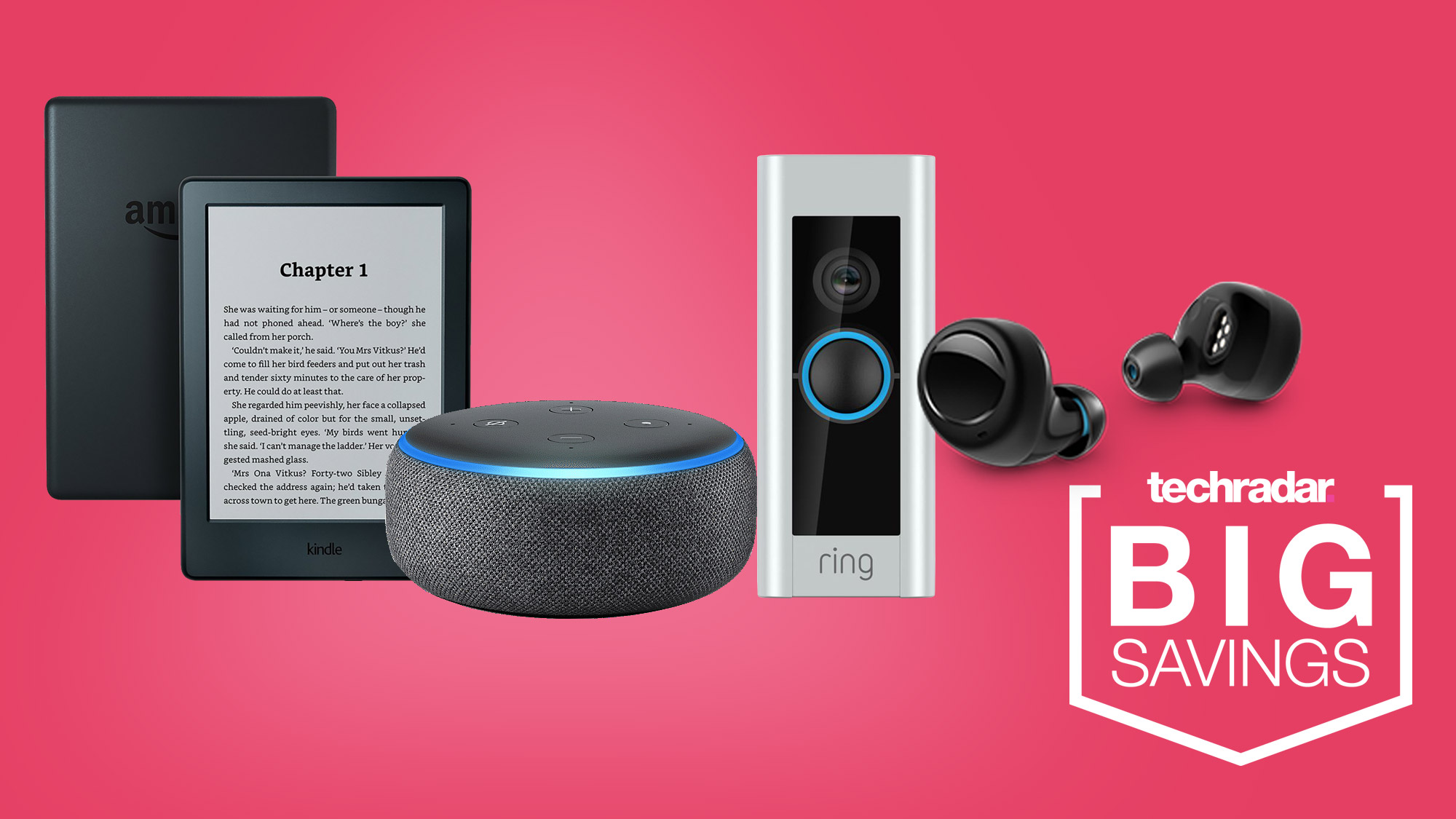 Amazon Valentine's Day sale: deals on the Kindle, Ring Doorbell, Echo Buds and more