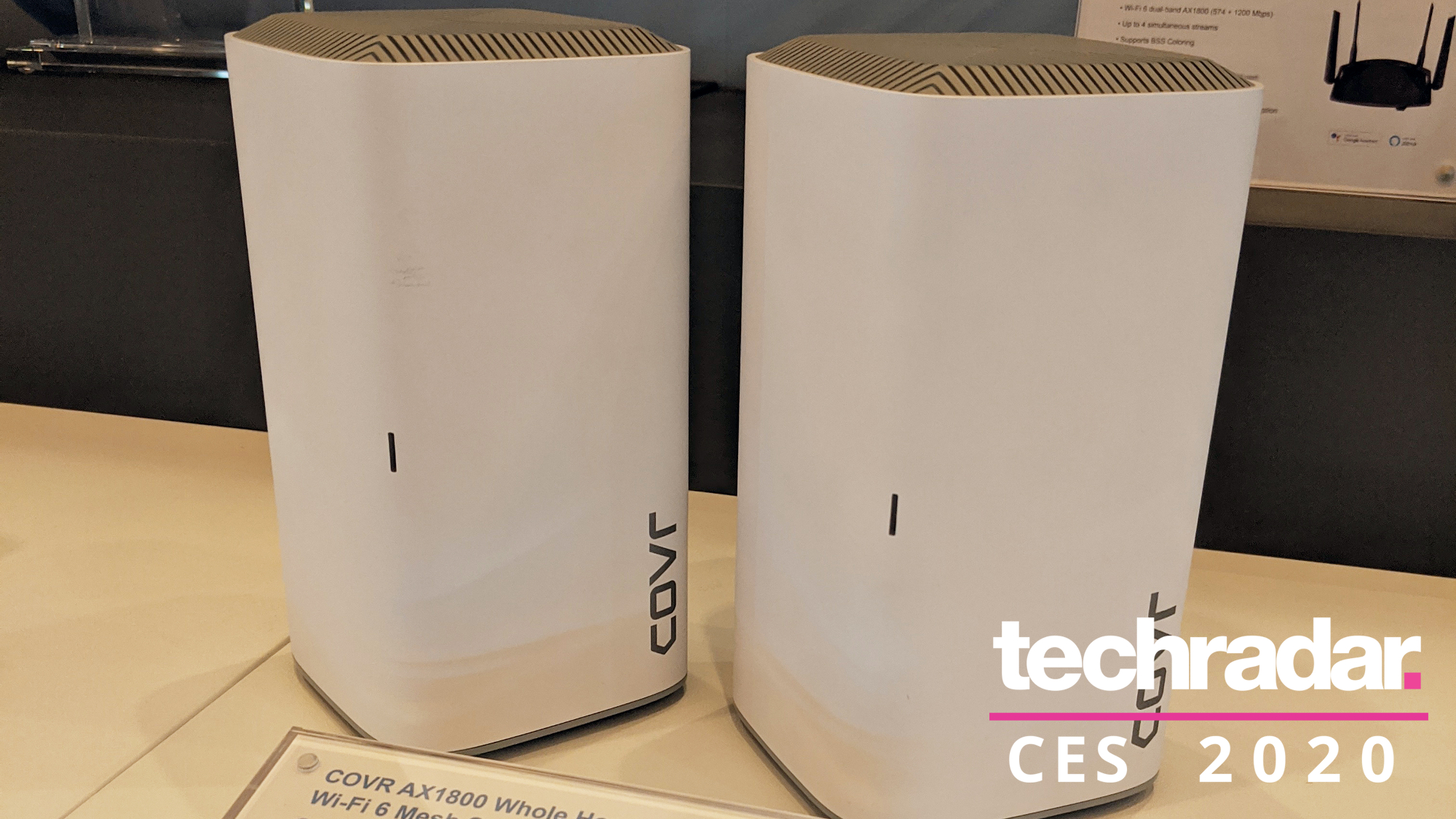 D-Link's new mesh Wi-Fi 6 system boasts impressive coverage and easy setup