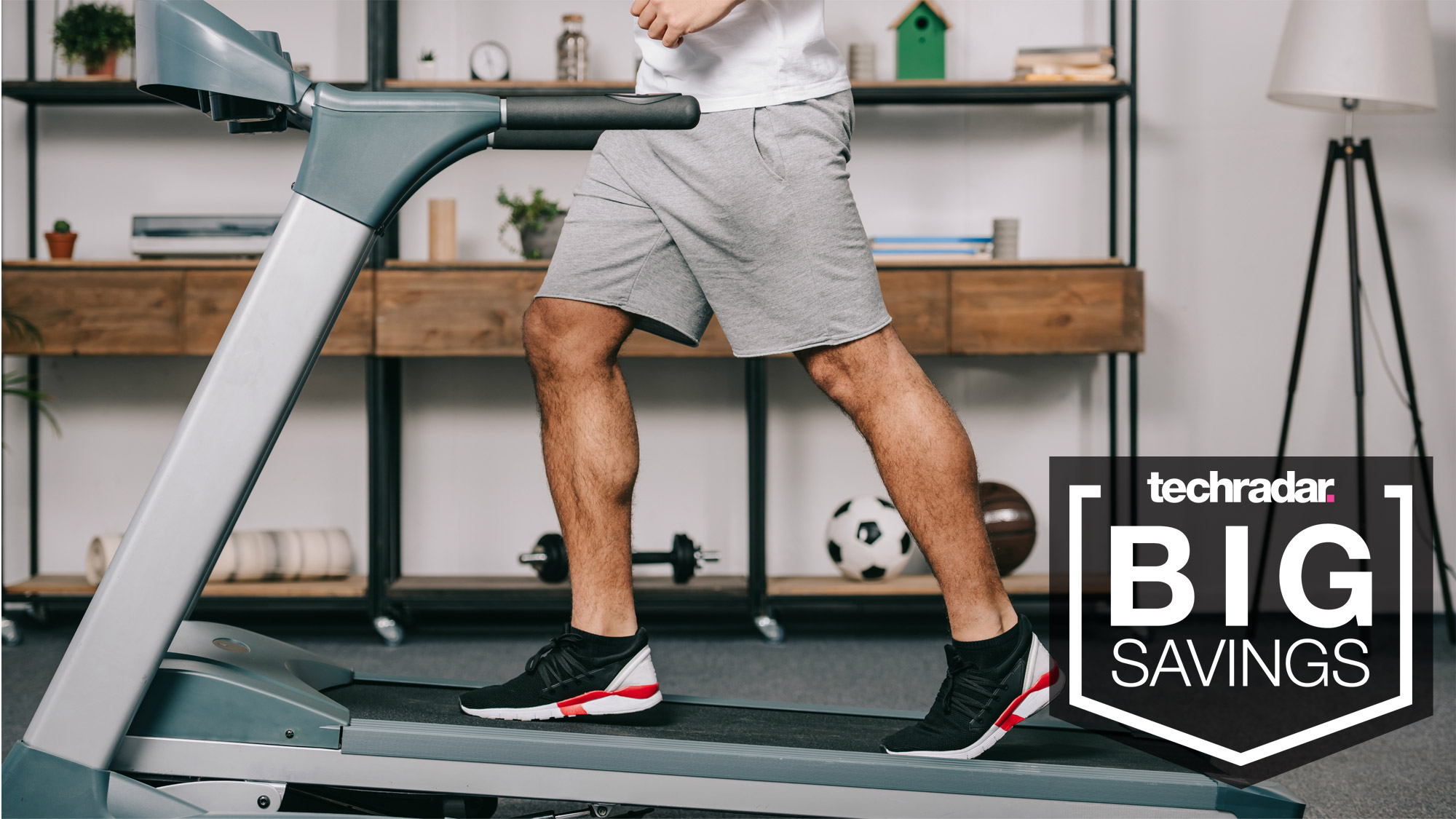 Exercise at home with deals on treadmills, indoor cycling bikes, weights and more