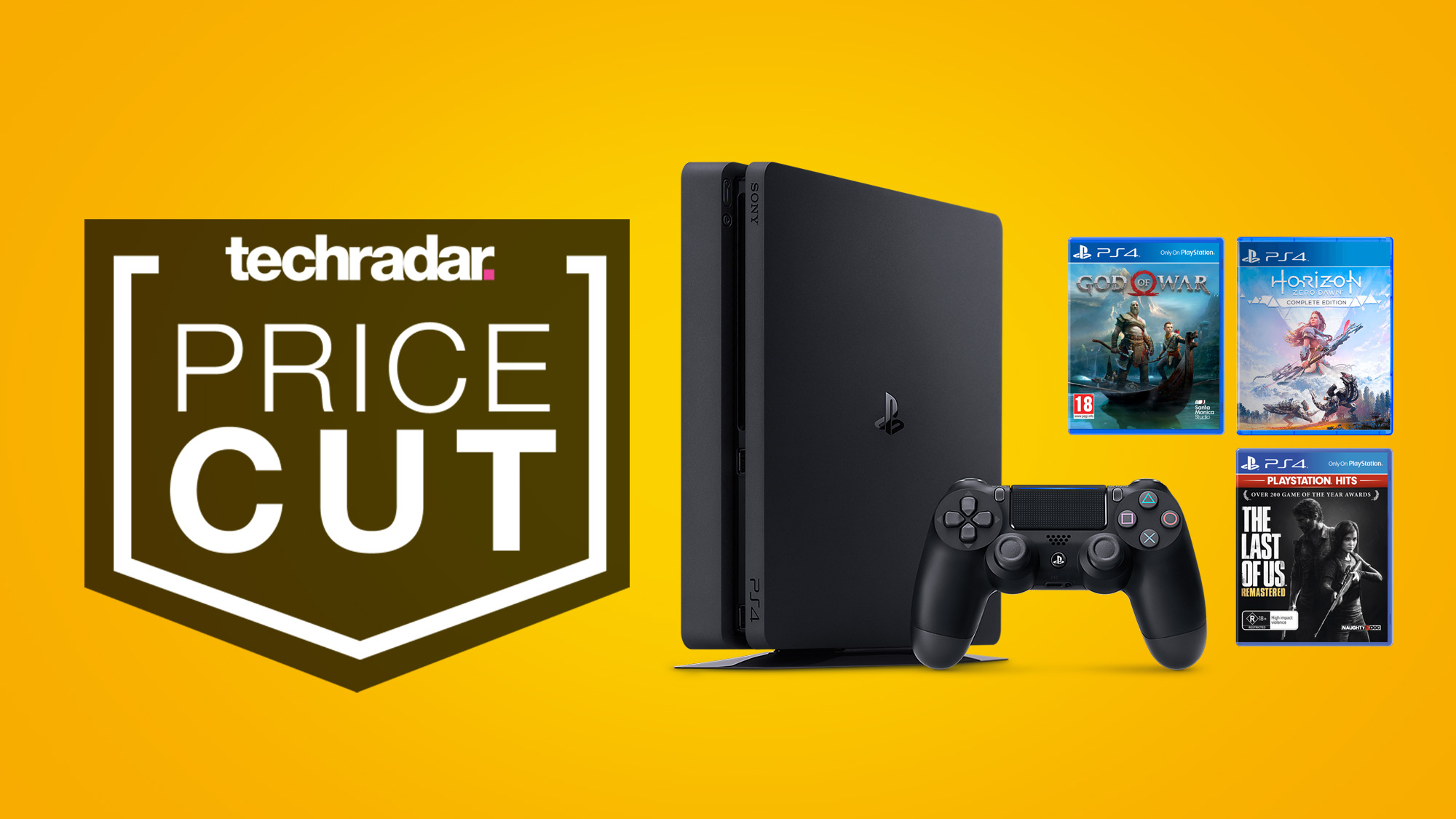 Grab a cheap PS4 Slim bundle deal and you'll get three of the best games free