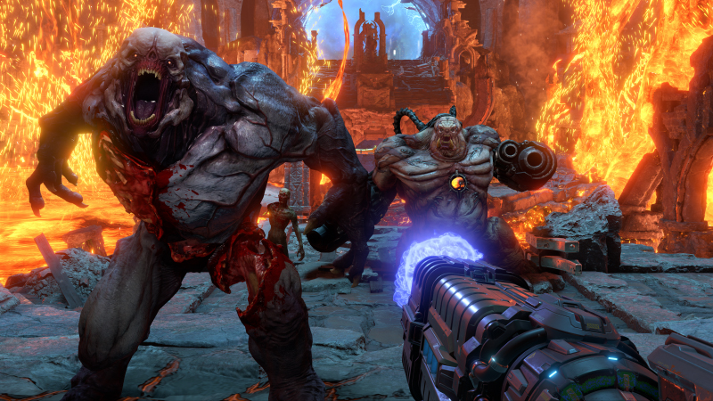 Here's two hours of Doom Eternal footage, courtesy of...T-Pain