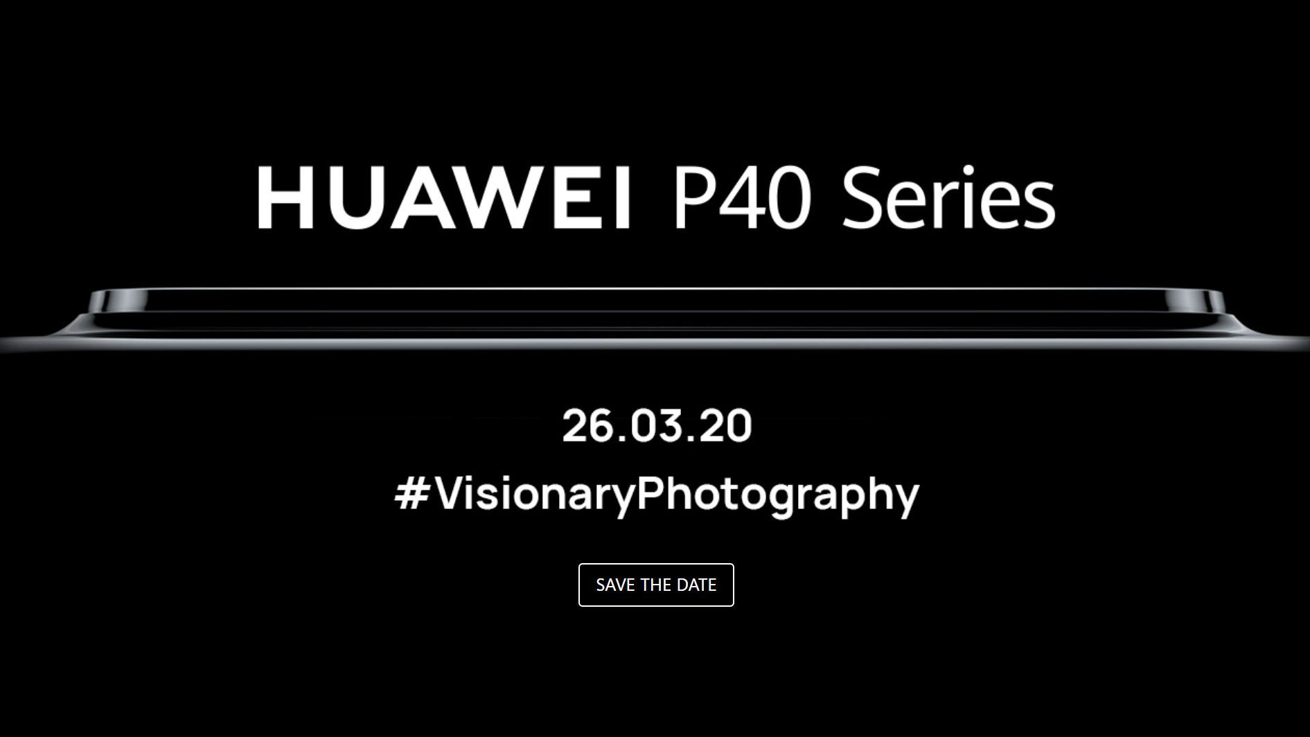 Huawei P40 launch event teaser suggests it's another phone dedicated to photography