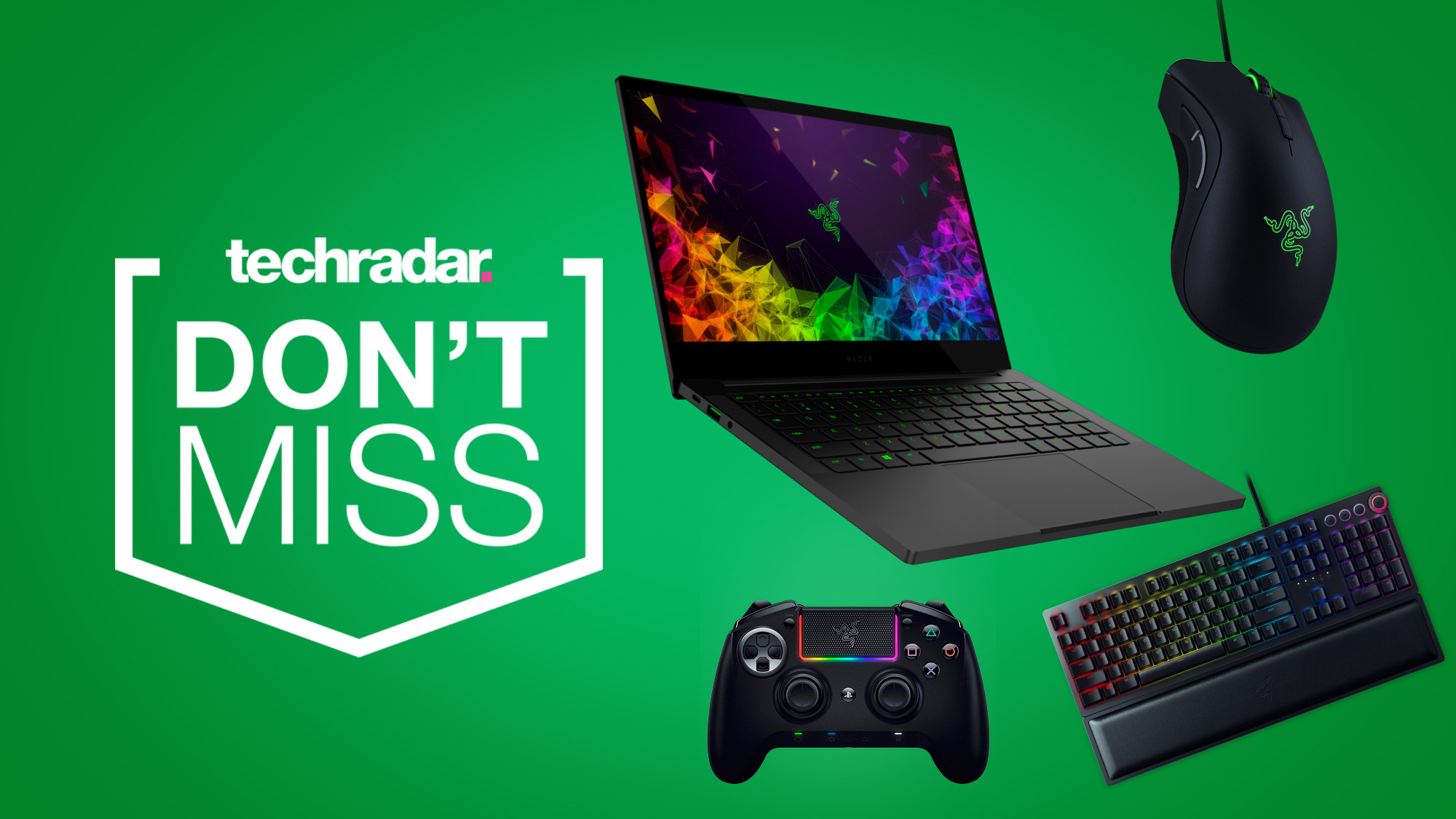 Let these Razer gaming deals set you up for 2020 in style: cheap Razer keyboards, mice, and laptops