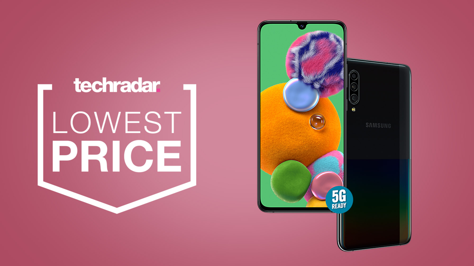 Looking for a cheap 5G phone? This Samsung Galaxy A90 is now only £399