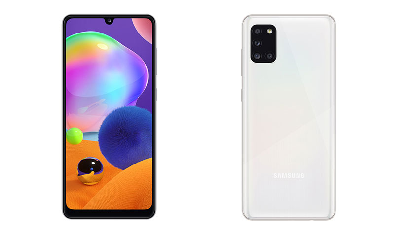 New Samsung Galaxy A31 sports huge 5000mAh battery and 48MP rear camera