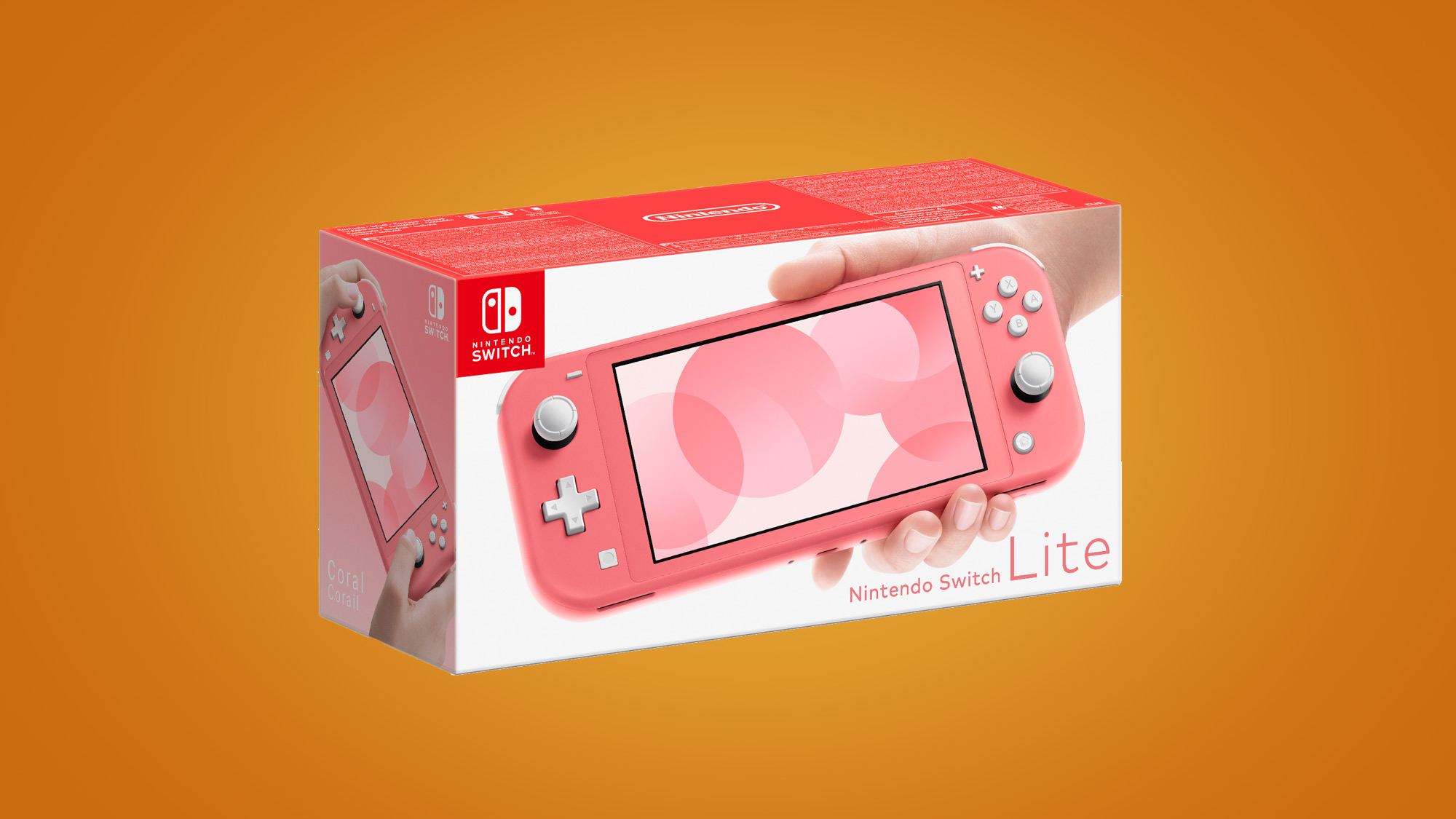 The Nintendo Switch Lite gets a new coral color scheme