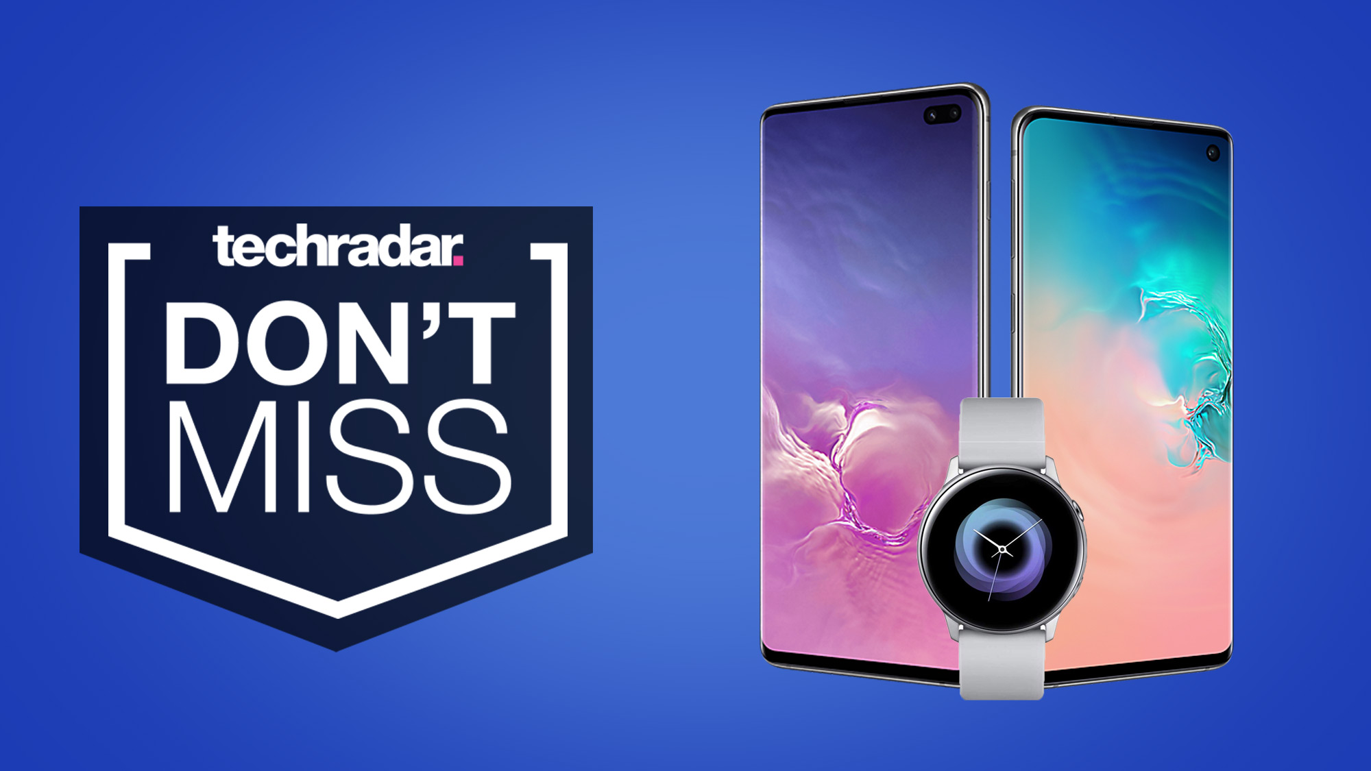 These ace Samsung Galaxy S10 and S10 Plus deals come with a free smartwatch