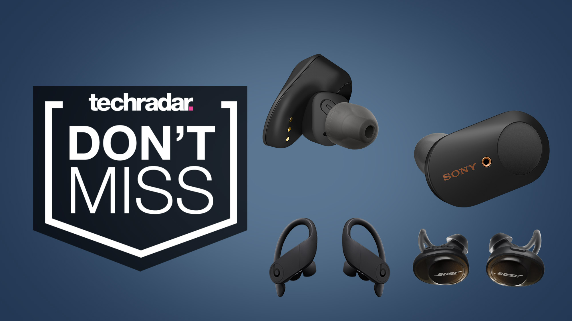 These cheap wireless earbuds make for excellent Beats, Bose, and Sony WF-1000XM3 deals