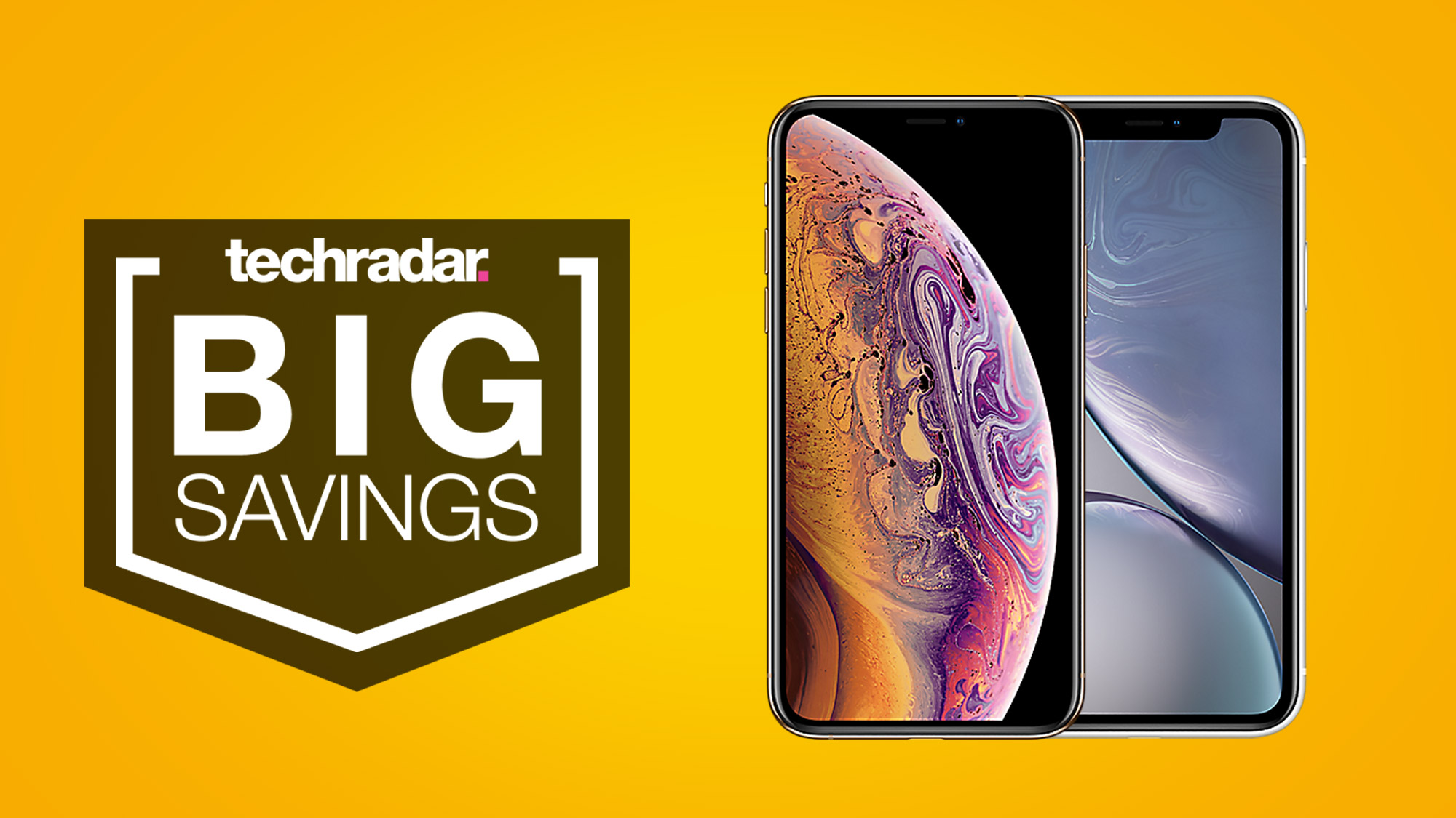 These cut-price iPhone XS and XR deals will save you a packet on your new device