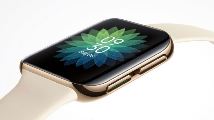 This first look at Oppo's smartwatch shows it's just like an Apple Watch
