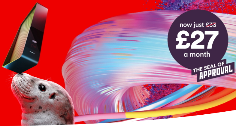 Virgin flash sale: super fast fibre broadband deals for an effective £22.83 a month